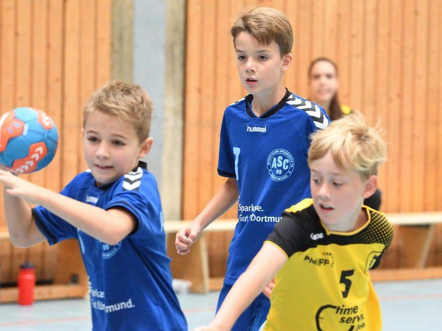 Kreisklasse, 2. Spieltag: ASC 09 – JSG Witten Ruhr 1 9:29 (5:18)