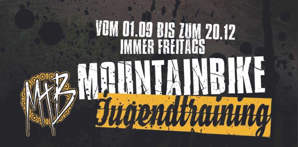 Mountainbike Jugendtraining im Bikepark Aplerbeck