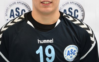 Oberliga, 9. Spieltag: ASC 09 – JSG HLZ Ahlen 30:30 (16:14)