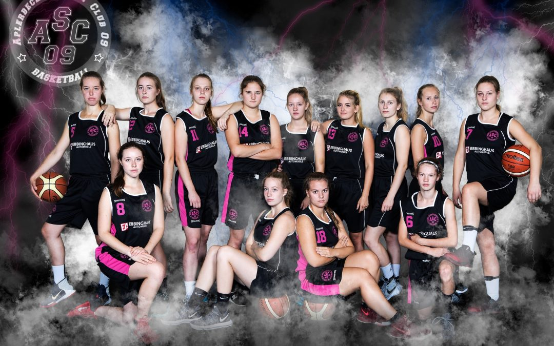 """Zum Rückrundenstart ASC-Damen 3 wieder """"in der Spur""""!"""