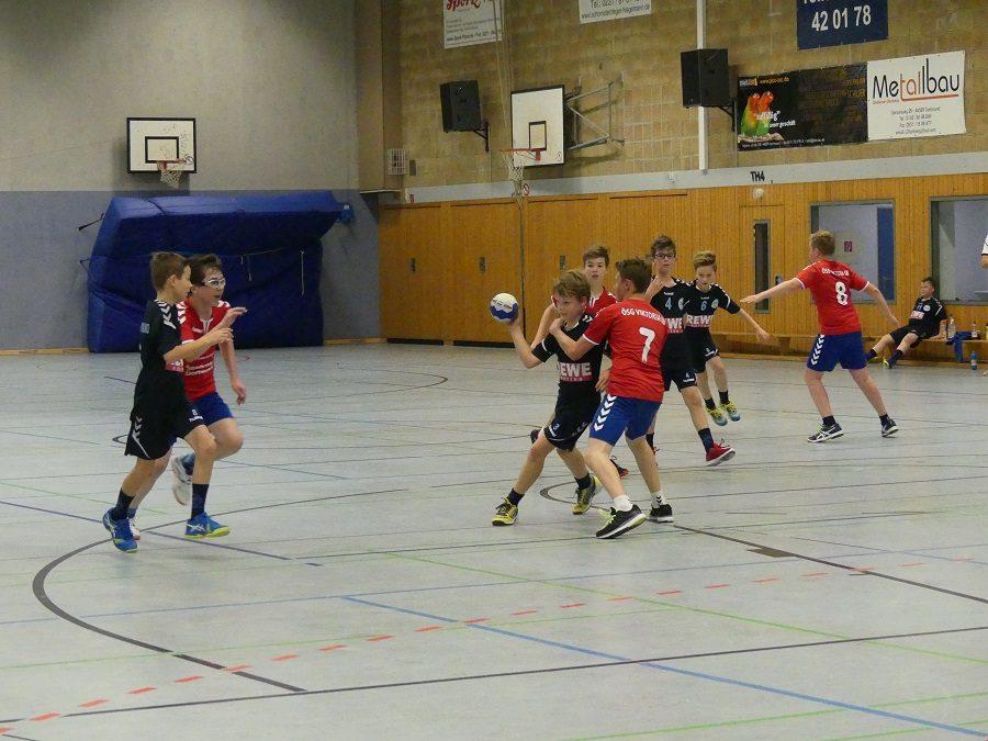 Kreisklasse, 11. Spieltag: ÖSG Viktoria Dortmund – ASC 09 22:19 (10:7)