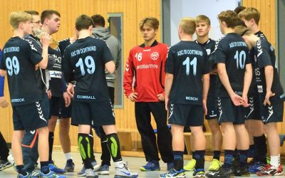 13. Spieltag: Schalksmühle-Halver juniors – ASC 09 21:21 (10:11)