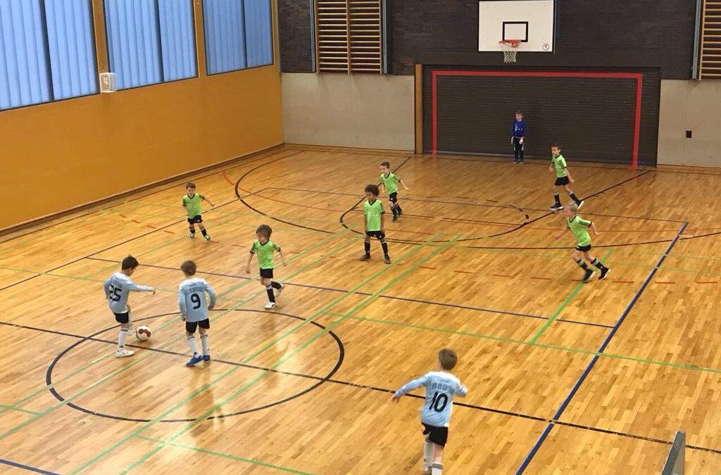 1. Sölderholzer Hallenmeisterschaft – Mini 1 holt den Titel und den Pokal nach Aplerbeck