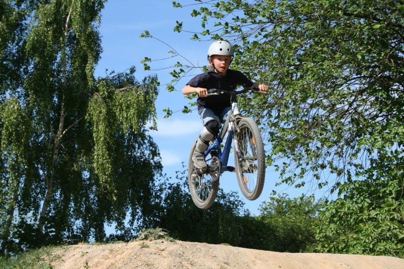 Mountainbike-Kids suchen Nachwuchs