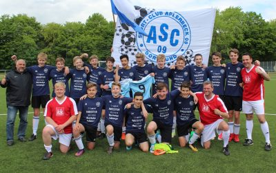 C1-Junioren feiern Meisterschaft und Aufstieg in die Bezirksliga