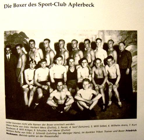Ab 1931 hatte der ASC 09 auch eine Boxabteilung.