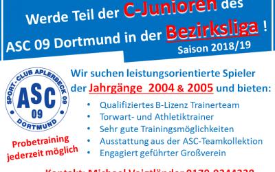 Spieler der Jahrgänge 2004 & 2005 für unsere Bezirksligamannschaft gesucht !