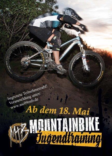 Anmeldung zum MTB-Kids/Jugend-Training im Bikepark Aplerbeck