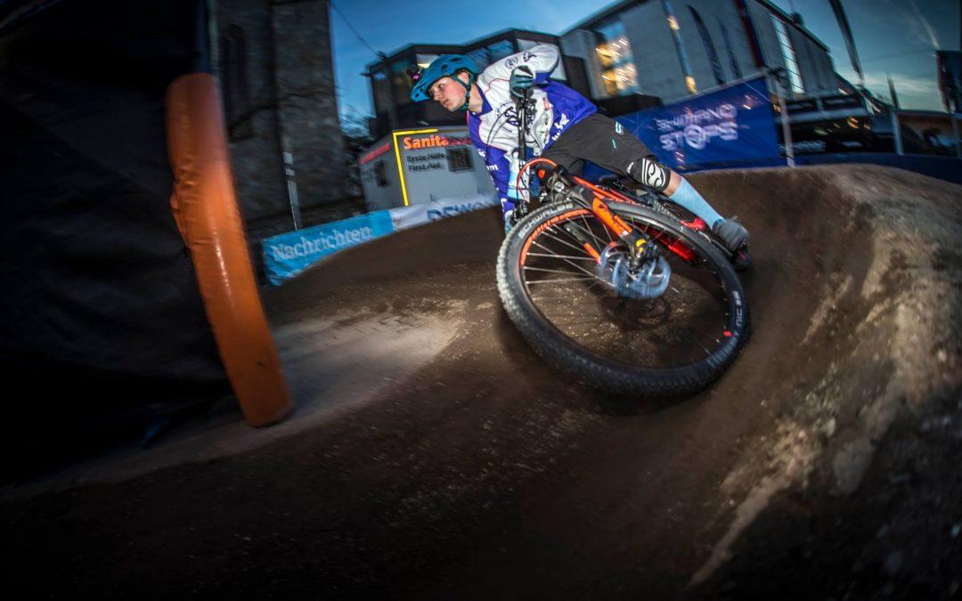 Matti Söhle wird 3. beim E-Bike-Nightsprint