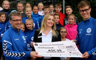 ASC 09 goes Bufdi: Hallo, Tim – Danke, Sparkasse!