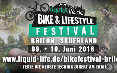 Pumptrack-Rennen beim Bike & Lifestyle Festival am Trailground in Brilon