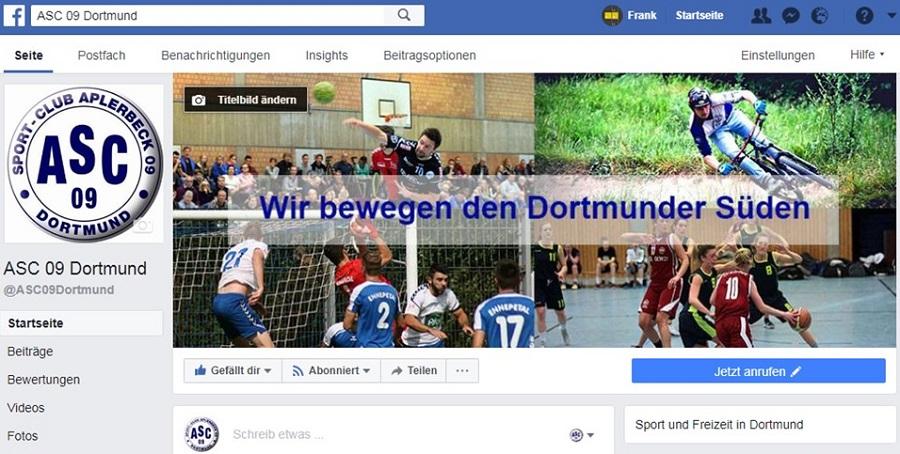 Acht Abteilungen – eine Seite: Jetzt sind wir gemeinsam bei Facebook!