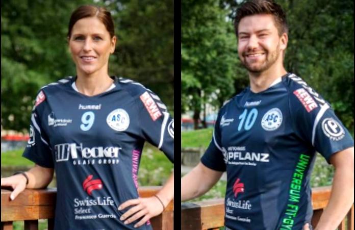"""Marc und Annika sind """"Vize-Handballer des Jahres""""!"""
