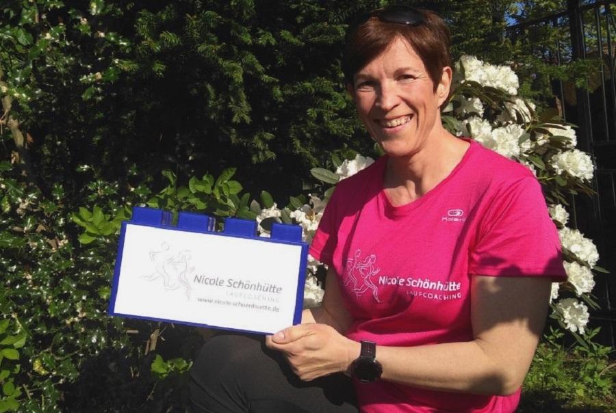 Unterstützt die ASC 09-Handballer: Laufcoach Nicole Schönhütte - www.nicole-schoenhuette.de