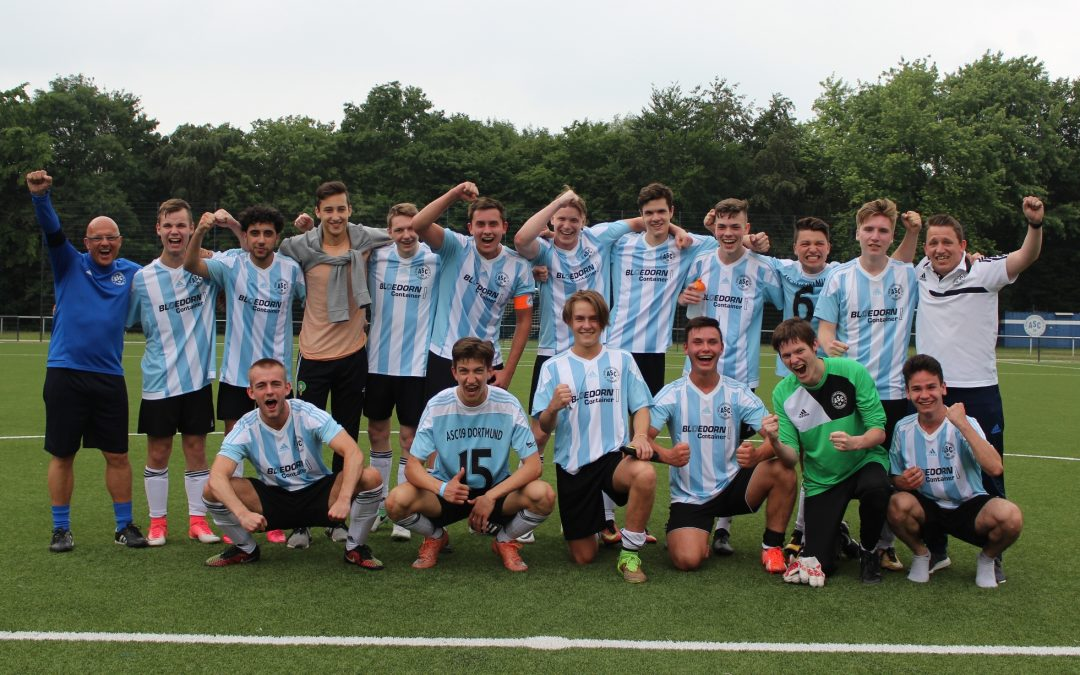 A-Junioren feiern Meisterschaft – Aufstieg ist geschafft!