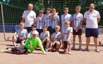 """Sommerturnier der SF Sölderholz – Turniersieg für unsere D3 auf """"Asche"""""""