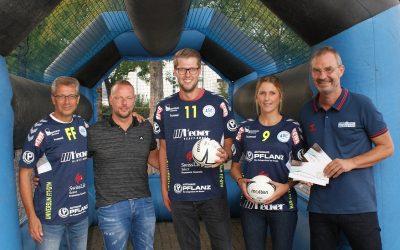 """Sponsorengrillen: ASC 09-Handballer sagen """"Danke!"""""""