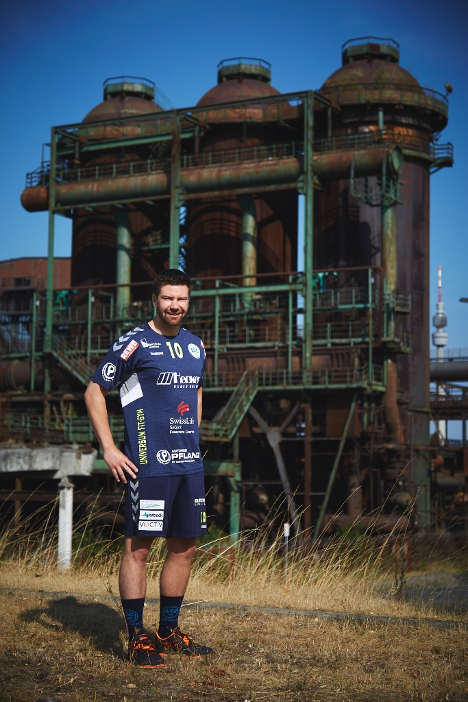 #10 Mannschaftskapitän Marc Bradtke - Rückraummitte