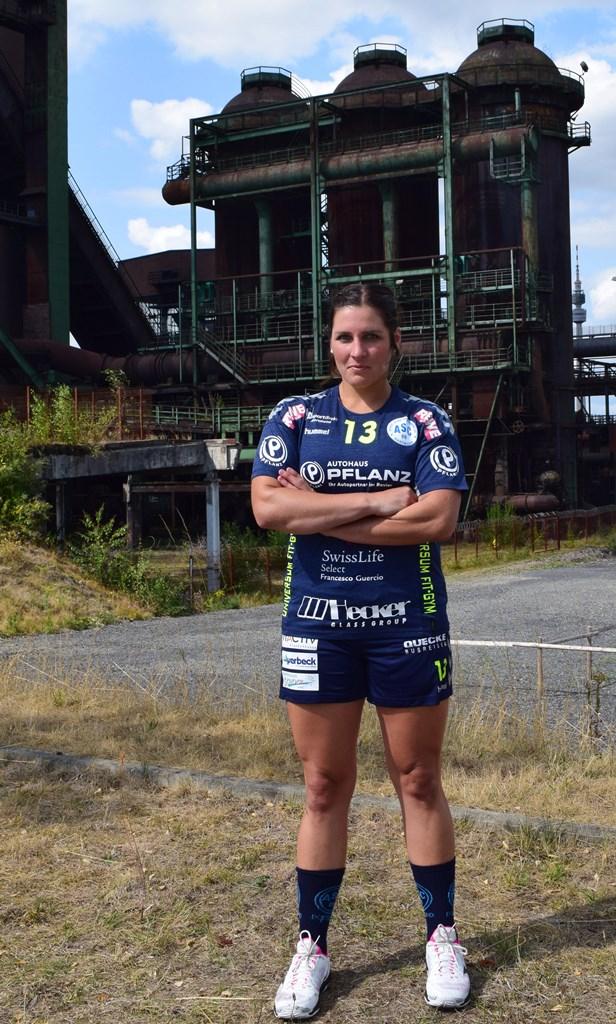 #13 Spielführerin Maren Rynas - Rückraum