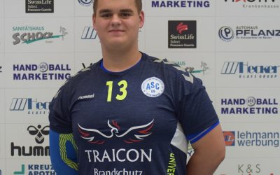 Unser Handball-Bufdi Nr. 4: Wir freuen uns auf Götz Dalbert!
