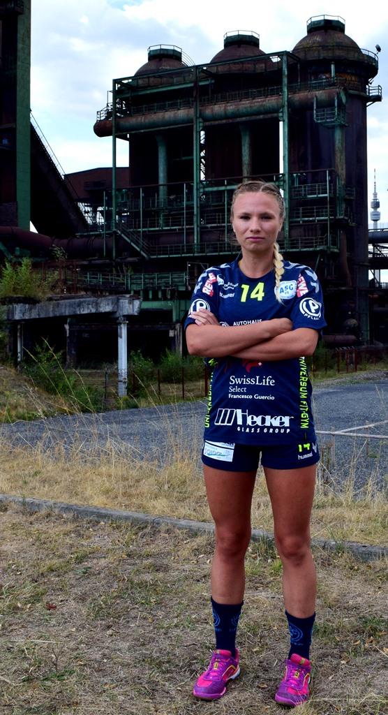 #14 Inga Spaan - Linksaußen