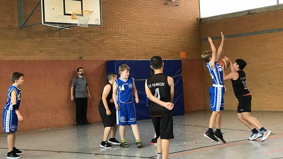 Basketball U12m verliert Saisonauftakt