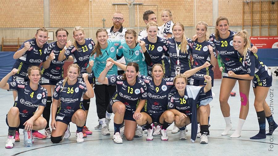 Oberliga, 1. Spieltag: ASC 09 – TSV Hahlen 36:22 (16:11)