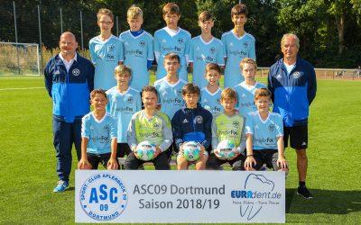 """Tabellenführer – Unsere D3-Junioren """"rocken"""" ihre Liga"""