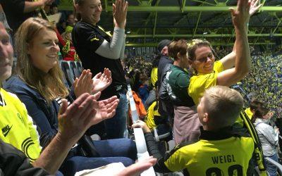 Größtes Vereinsaufgebot – ASC 09 Dortmund beim Abschiedsspiel von Roman Weidenfeller