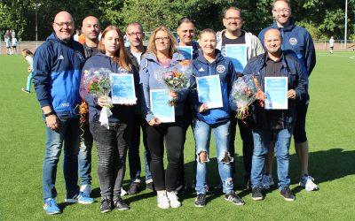 Dank für Jugendarbeit – ASC 09 ehrt scheidende Trainer