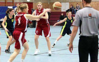 Pokalspiel der Basketball-Damen 1 abgesagt