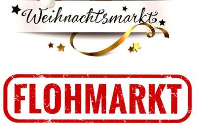 Trödel- und Weihnachtsmarkt im Vereinsheim: jetzt anmelden!