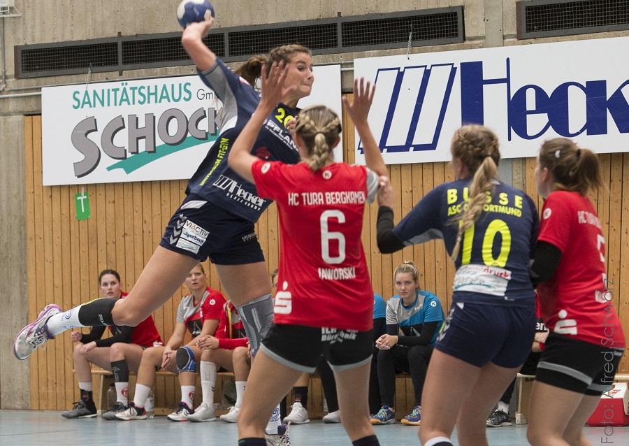 Oberliga, 5. Spieltag: ASC 09 – HC TuRa Bergkamen 28:25 (15:10)
