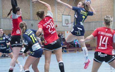Knappes Pokal-Aus für Handball-Damen
