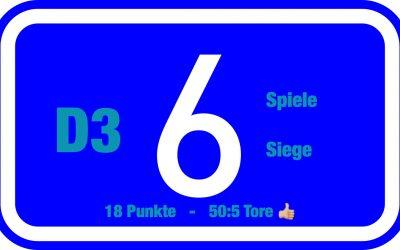 Tabellenführung behauptet – D3-Junioren siegen beim FV Scharnhorst