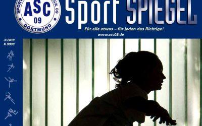 60 Seiten pralles ASC 09-Vereinsleben: Der neue SPIEGEL ist da!