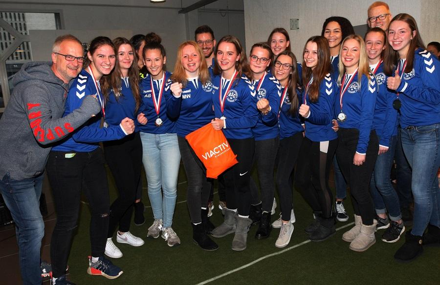 Stadtmeister 2018: unsere weibliche A-Jugend.