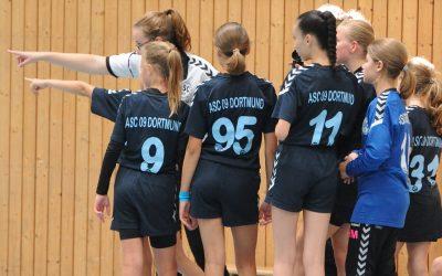 wD-Kreisliga, 9. Spieltag: DJK Ewaldi Aplerbeck – ASC 09 20:10 (10:4)