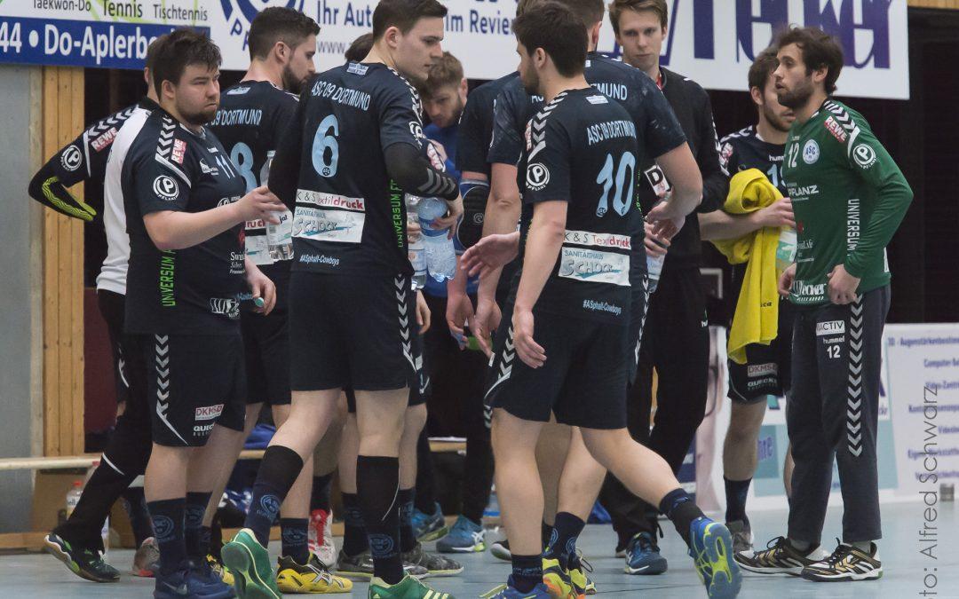 Landesliga, 6. Spieltag: HTV Recklinghausen – ASC 09 22:25 (14:12)
