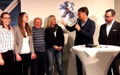 Bildergalerie: Wegmann/Stache beim Ehrenamtspreis in der Lostrommel!