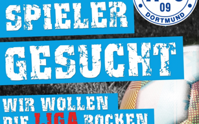 """Mit dem ASC 09 die Ligen """"rocken"""" – Leistungsorientierte Spieler des Jahrgangs 2008 gesucht !"""
