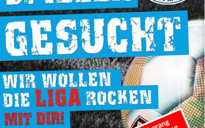 """Mit dem ASC 09 die Ligen """"rocken"""" – Leistungsorientierte Spieler der Jahrgänge 2007 & 2008 gesucht !"""