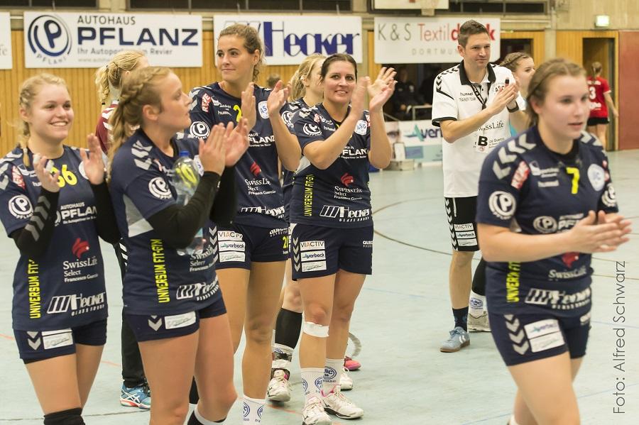 Oberliga, 11. Spieltag: ASC 09 – SC DJK Everswinkel 31:24 (13:15)
