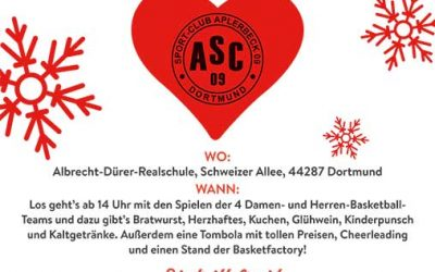 X-MAS-Basketball: Die Basketballer/innen laden ein