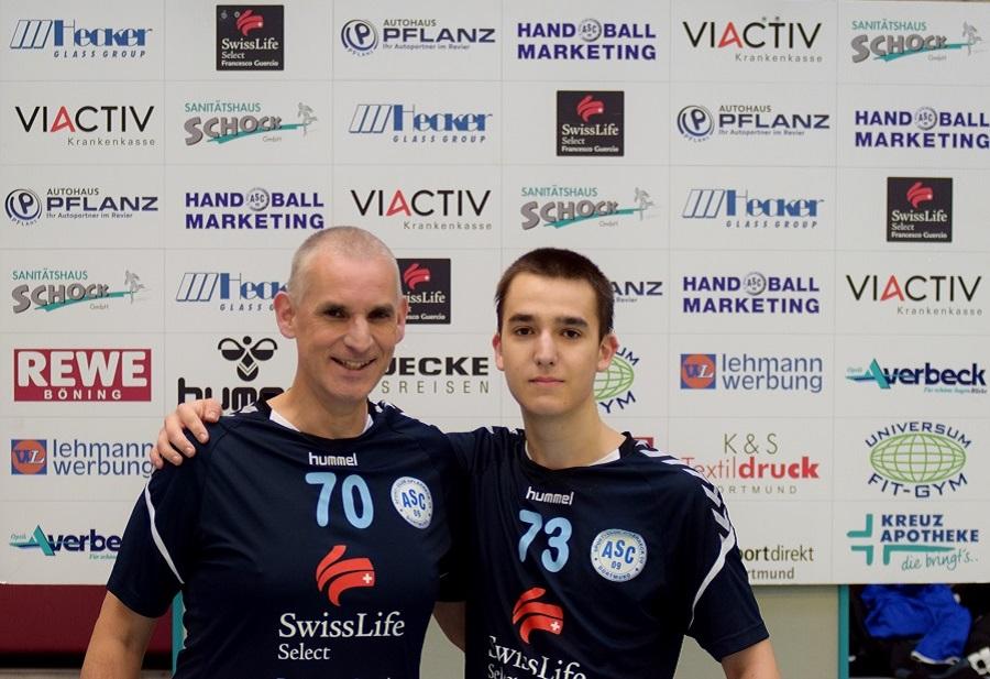 Matthias und Lennart Ibler – oder: Wenn der Vater mit dem Sohne . . .