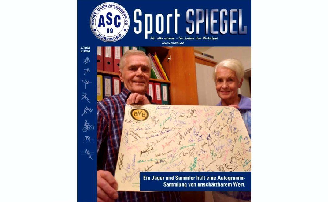 Pünktlich zu Weihnachten: Der neue ASC 09-SPIEGEL ist da!