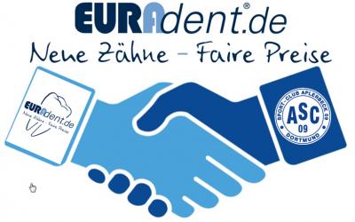 EURAdent verlängert Partnerschaft mit der ASC 09 Fußballjugend