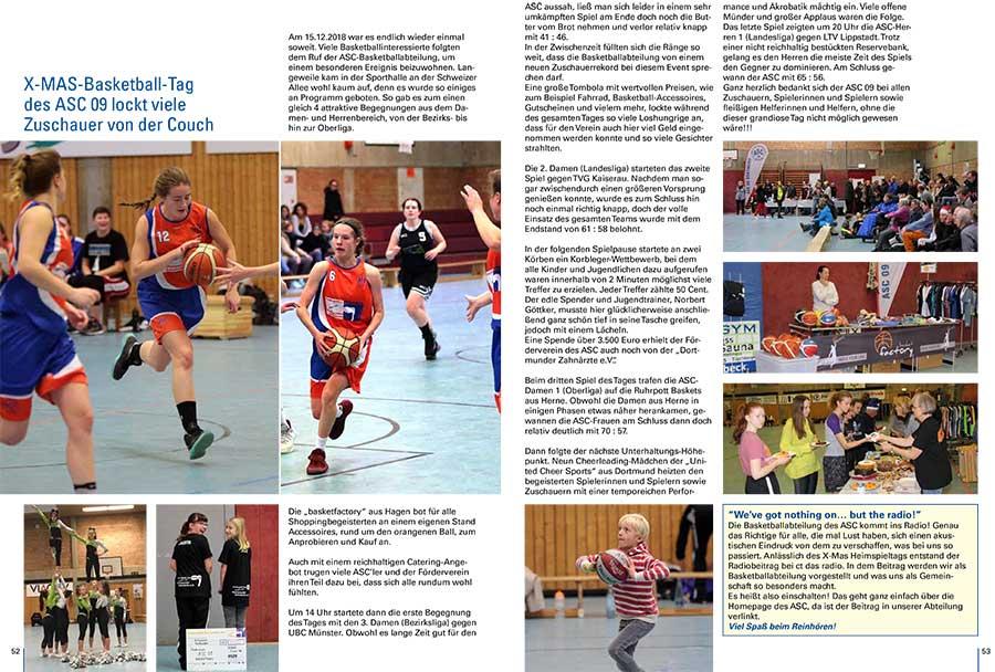 X-MAS-Spieltag im Sport Spiegel