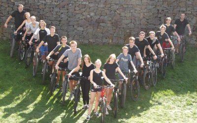 Das HLR-Alpencross-Team-2019 nimmt 2019 wieder an der Westfalen Winter Bike Trophy teil
