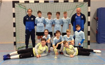 D3-Junioren – 3. Platz beim Admin Fair Play Hallencup in Wellinghofen